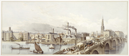 Panorama of London: 19th century
