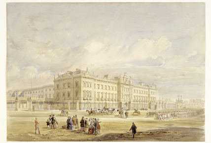 Buckingham Palace East Front: 19th century