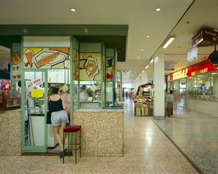 Interior of Elephant & Castle Shopping Centre: 1999
