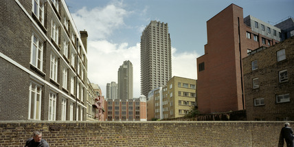 Towers on the Barbican Estate: 1998
