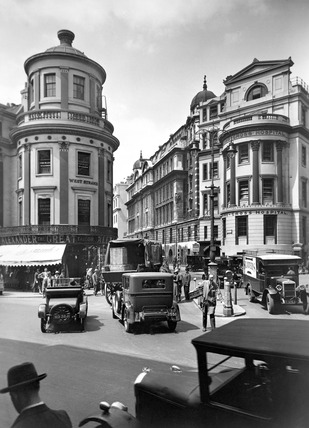 View of King William IV Street: 20th century