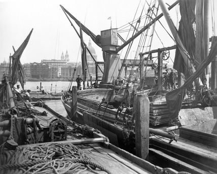 Greenmoor Wharf rubbish depot, Bankside: 20th century