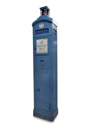 Police telephone box: 20th century