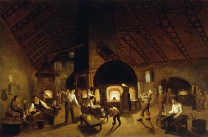 The Falcon Glassworks: 19th century