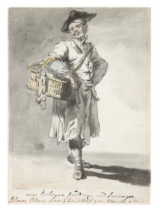 Sausage seller: 1759