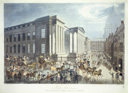 The Royal Mails starting from the General Post Office, London: 1830
