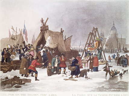 Frost Fair: 1814
