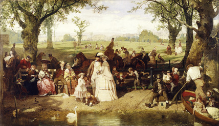 A Summer Day in Hyde Park: 1858
