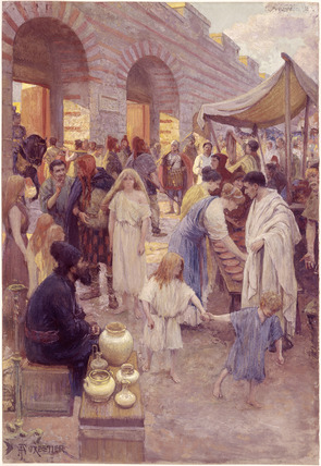 A Market Place in Roman London: 20th century