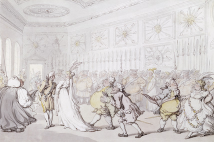 A Drawing Room at St. James's Palace: 19th century