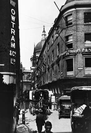 Watling Street, looking west:  20th century