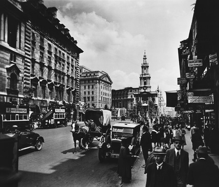 The Strand, looking east: 20th century