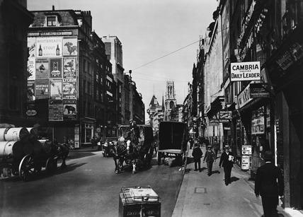 Fleet Street, looking west: 20th century
