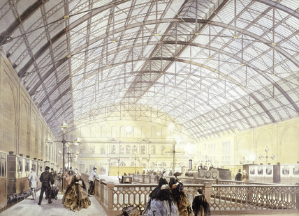 Charing Cross Station: 19th century