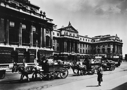 West facade of Somerset House: 20th century