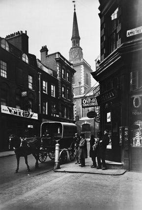 Duke of  York Street and Apple Tree Yard: 20th century