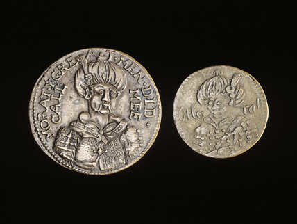 Coffee house tokens: 17th century.