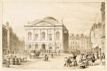 Sessions House, Clerkenwell Green: 1831