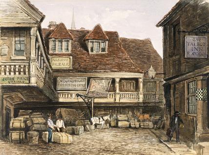 The Talbot Inn: 19th century