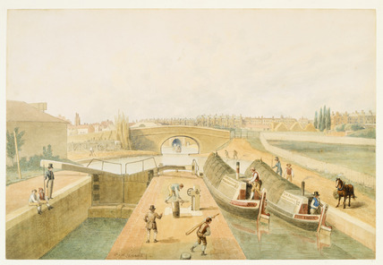 View of the Regent's Canal: 1822