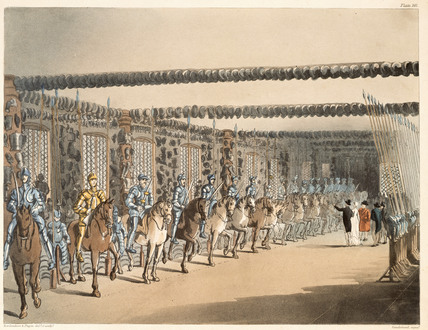 Horse Armoury Tower: 1809