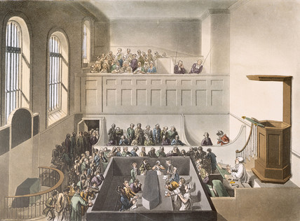 Newgate - chapel: 1809