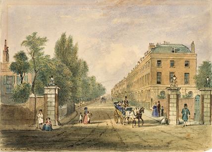 Highbury Place: 19th century