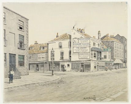 Old Cheyne Walk: 1860