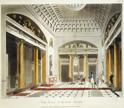 The Hall, Carlton House: 1809