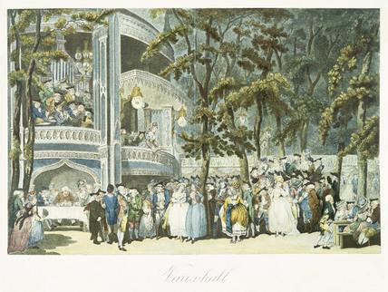 Vauxhall: 18th century