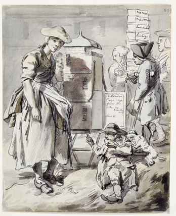 Broadsheet seller: 1759