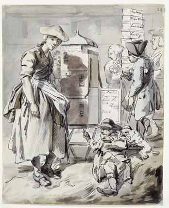 Broadsheet seller: 1759