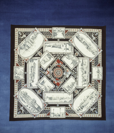 Commemorative handkerchief: 1924