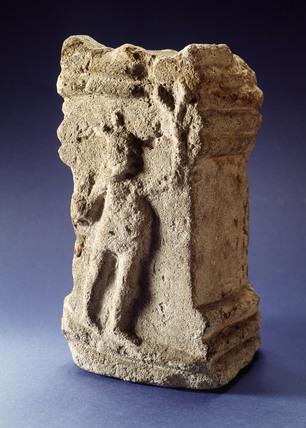 Roman limestone altar
