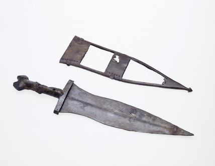 Roman iron dagger