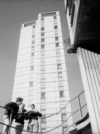 Tower block at Avondale Square Estate: 20th century