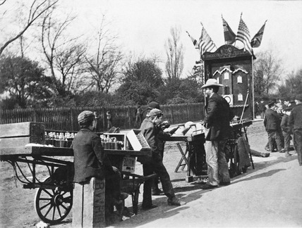 At the fair, Chelsea Bridge Road: 1893
