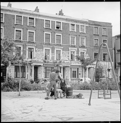 Tolmers Square housing protest: 1979