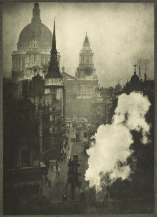 A photogravure of Ludgate Hill: c.1900-1909