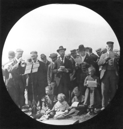 London City Mission at Barnet Fair: c.1900