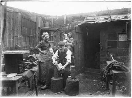 Making Shovels in Bethnal Green: c.1900