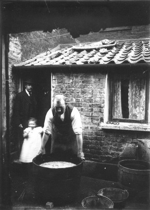 Cleaning Shells for Manufacture: c.1900