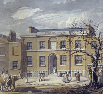 Whitechapel school: 1818