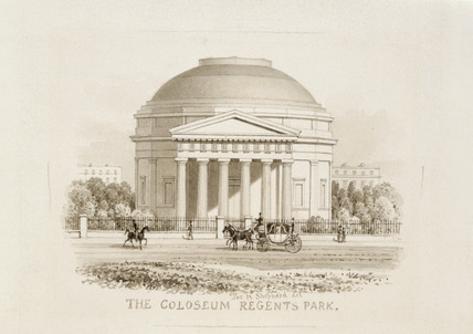 The Colosseum, Cambridge Gate, Regent's Park: 1827