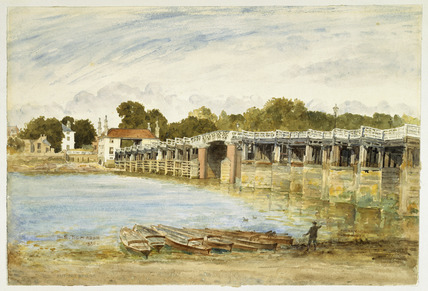 Old Putney Bridge: 1880