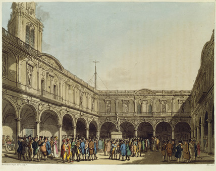 Courtyard of the Royal Exchange: 1809