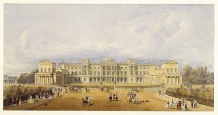 Buckingham Palace: 1827