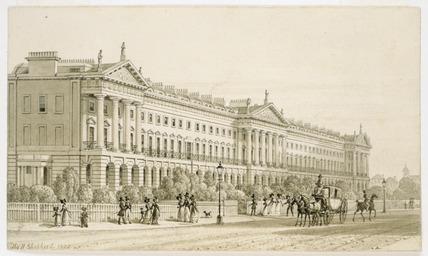 Hanover Terrace: 1825