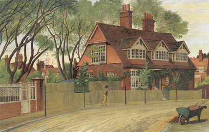 Queen Anne Gardens, Looking North: 1882