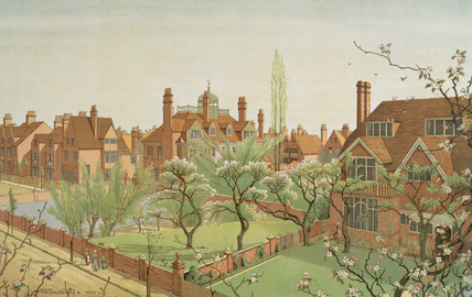 Tower House and Queen Anne's Grove: 19th century